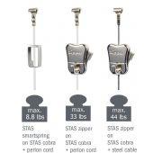 STAS hooks + cords