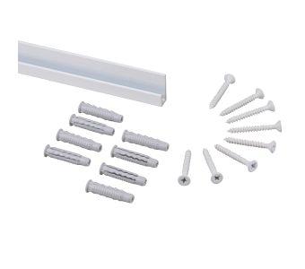 STAS j-rail max white + installation kit