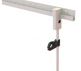 STAS j-rail max - anti-theft / security picture hangers