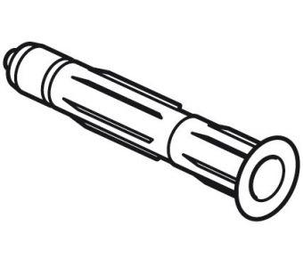 STAS plug 6 mm for soft wall