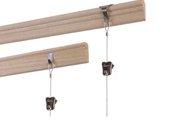 STAS wooden picture rail