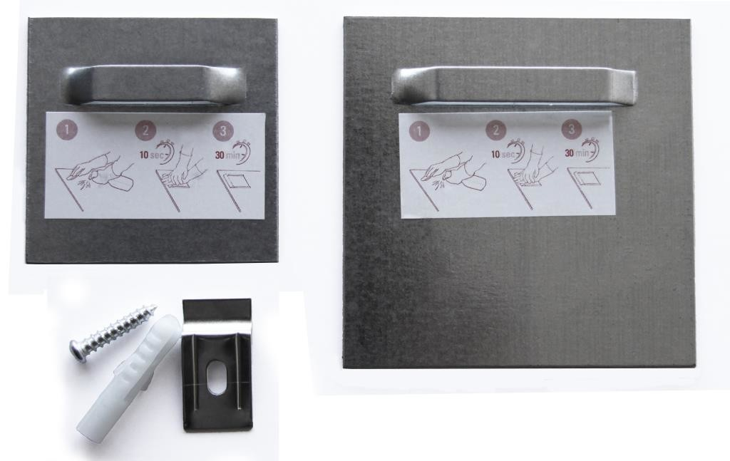 Self-adhesive picture hooks